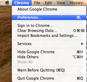 how to run google chrome in private mode